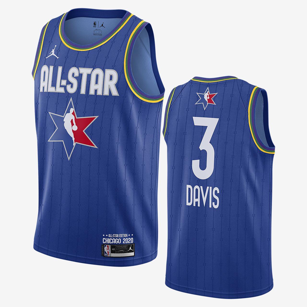 Anthony Davis All-Star Jordan NBA Swingman Jersey 男子球衣