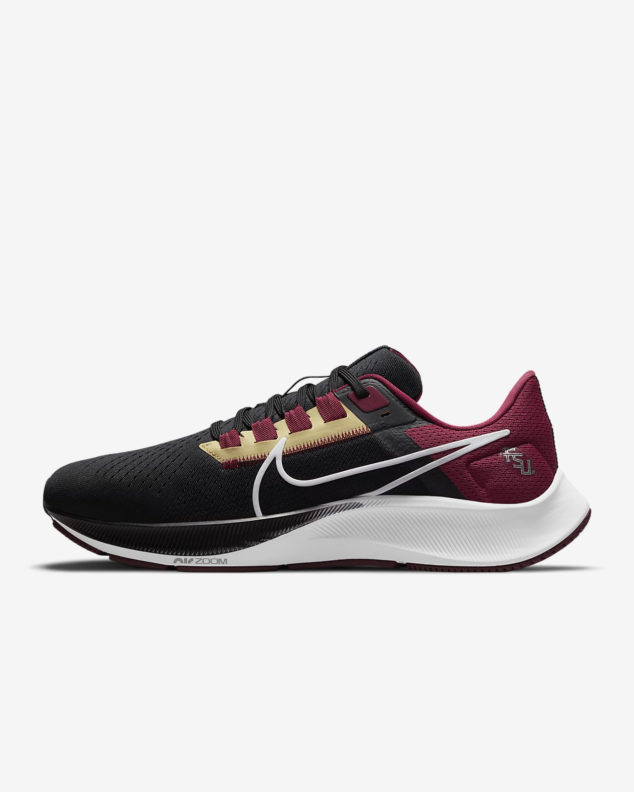 Nike College Air Zoom Pegasus 38 (Florida State) Running Shoe