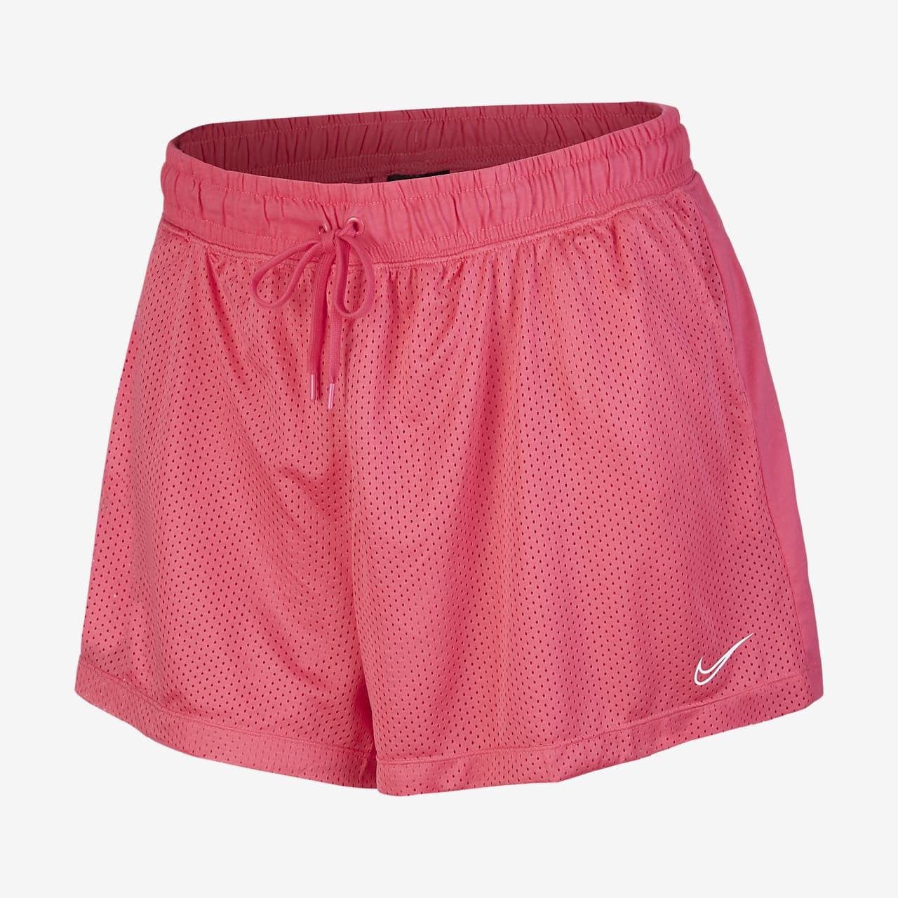 Nike Sportswear nettingshorts til dame (store størrelser)