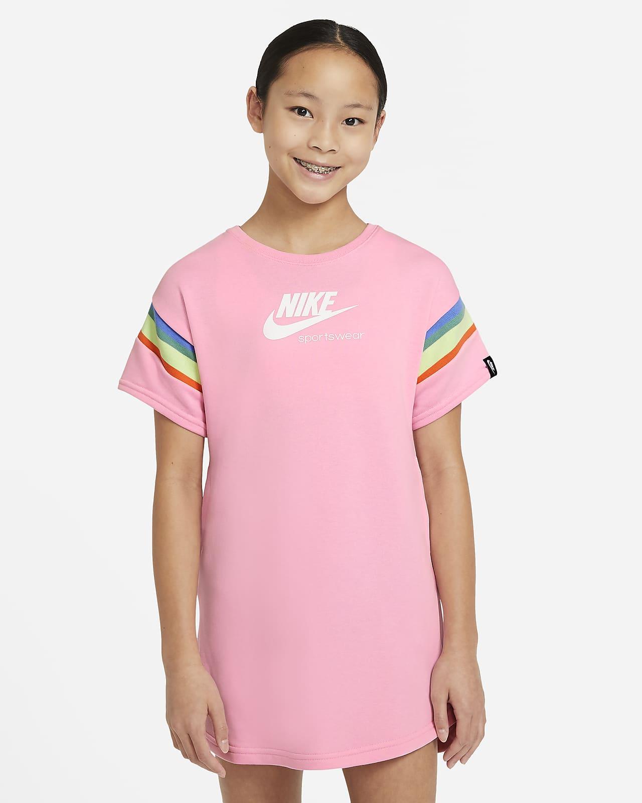 Nike Sportswear Heritage Older Kids' (Girls') Short-Sleeve Dress