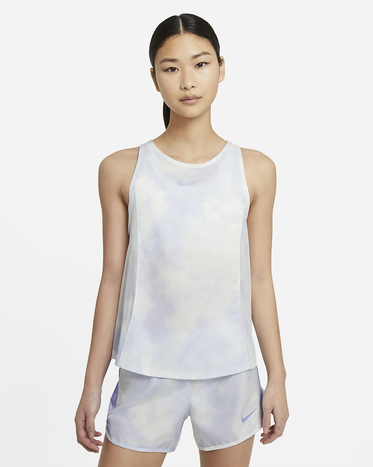เสื้อกล้ามวิ่งผู้หญิง Nike Icon Clash City Sleek