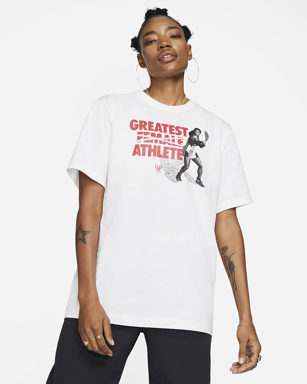 Tee-shirt de tennis Serena Williams