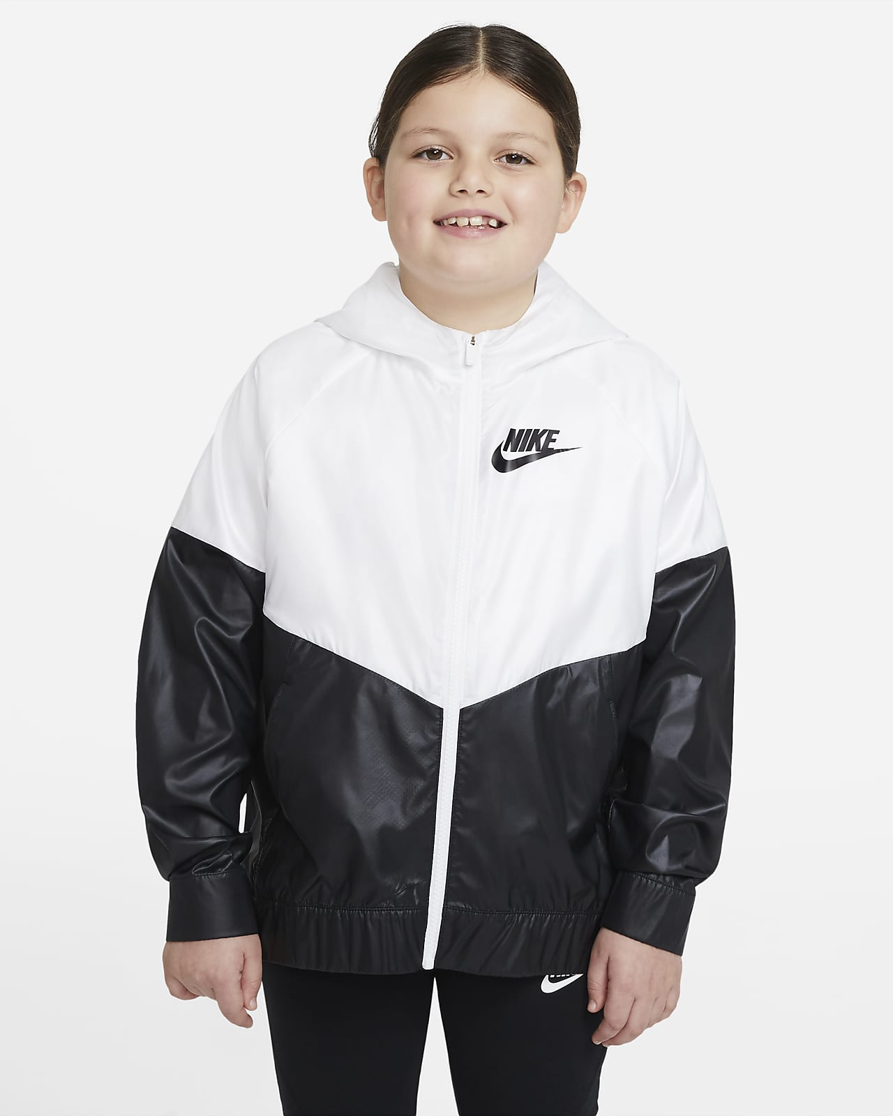 Nike Sportswear Windrunner Big Kids' (Girls') Jacket (Extended Size)