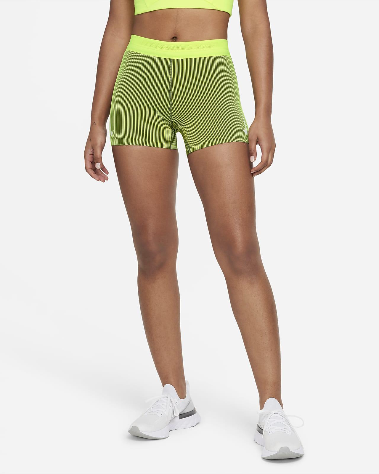 Nike AeroSwift Strakke hardloopshorts voor dames