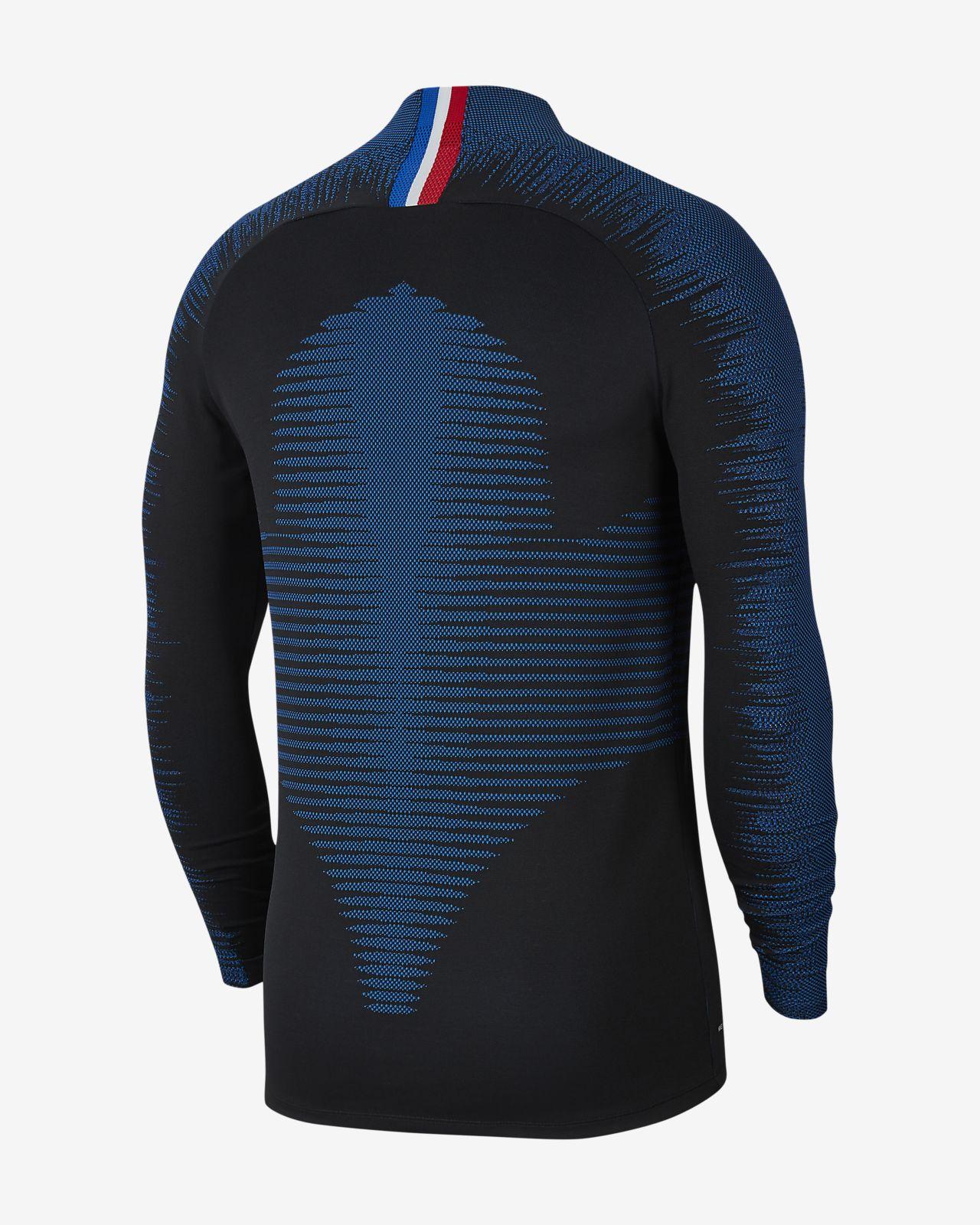 Nike VaporKnit Paris Saint Germain Strike fodboldtræningsoverdel til mænd