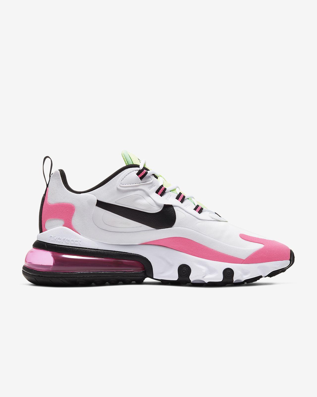 nike air max 270 pink womens running shoes