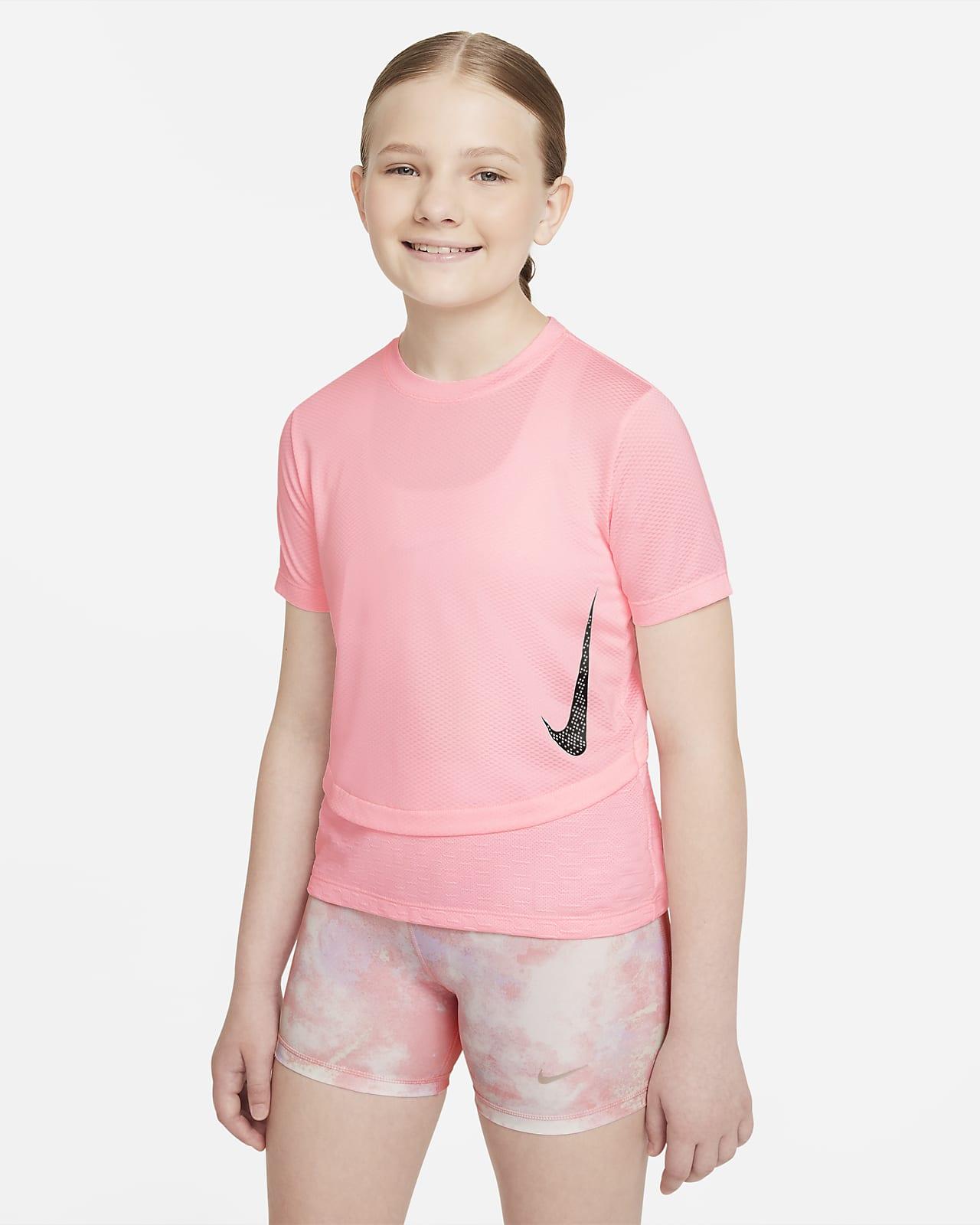 Nike Dri-FIT Instacool 大童 (女童) 訓練上衣
