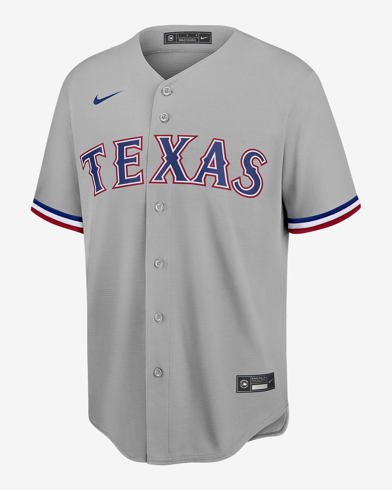 Jersey de béisbol Replica para hombre MLB Texas Rangers (jugador)