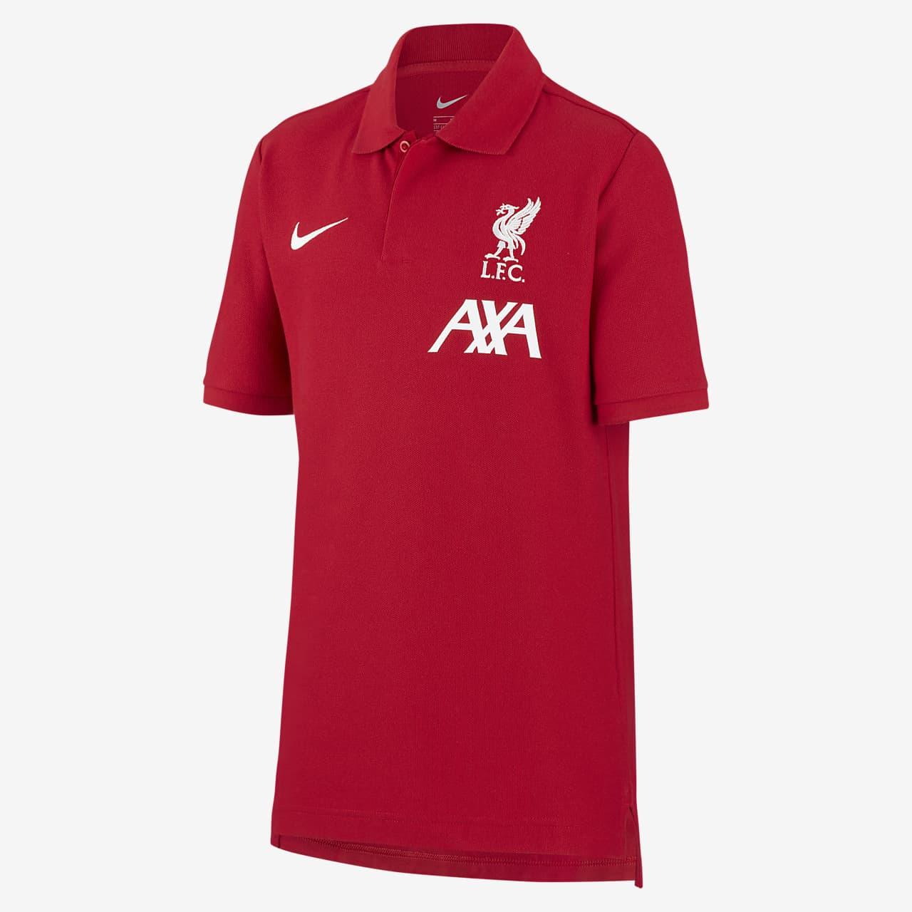 Fotbalová polokošile Liverpool FC pro větší děti