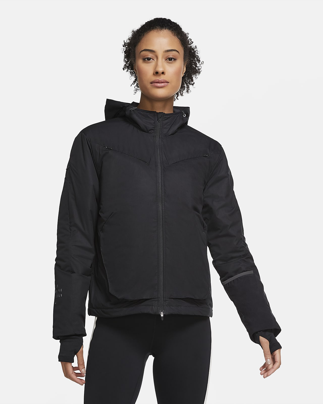 Veste de running à fente dynamique Nike Run Division pour Femme