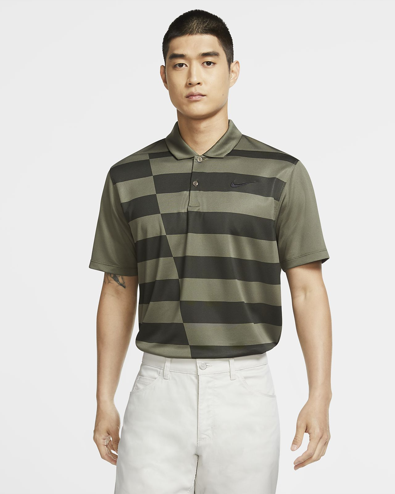 Nike Dri-FIT Men's Graphic Golf Polo
