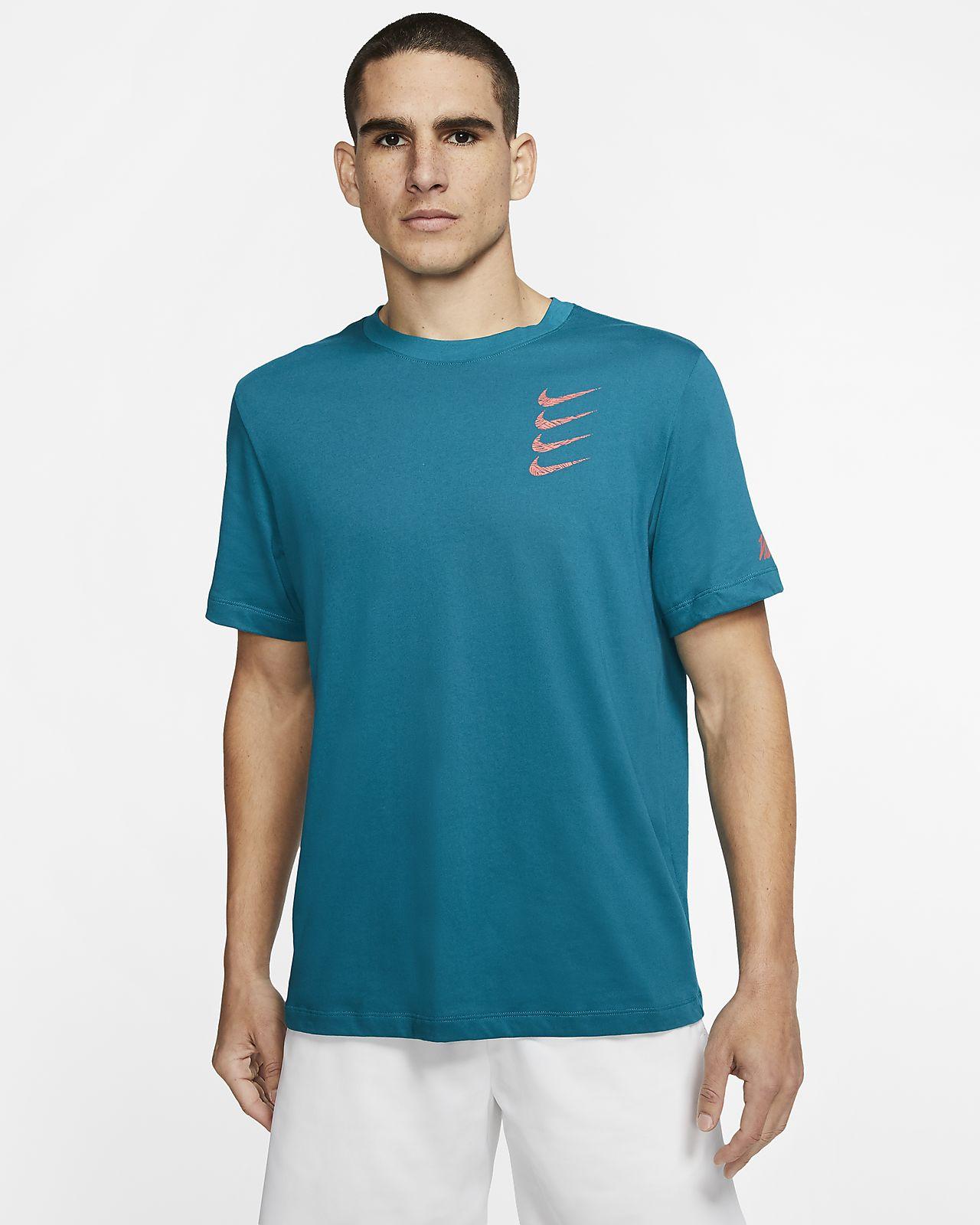 Nike Dri-FIT Grafikli Erkek Antrenman Tişörtü