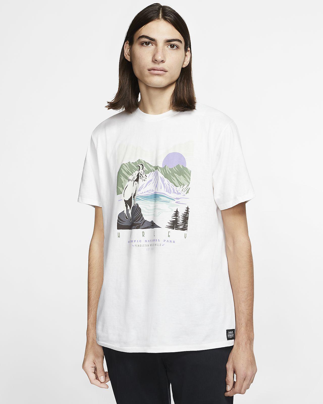 Hurley x Pendleton Olympic Park Camiseta - Hombre