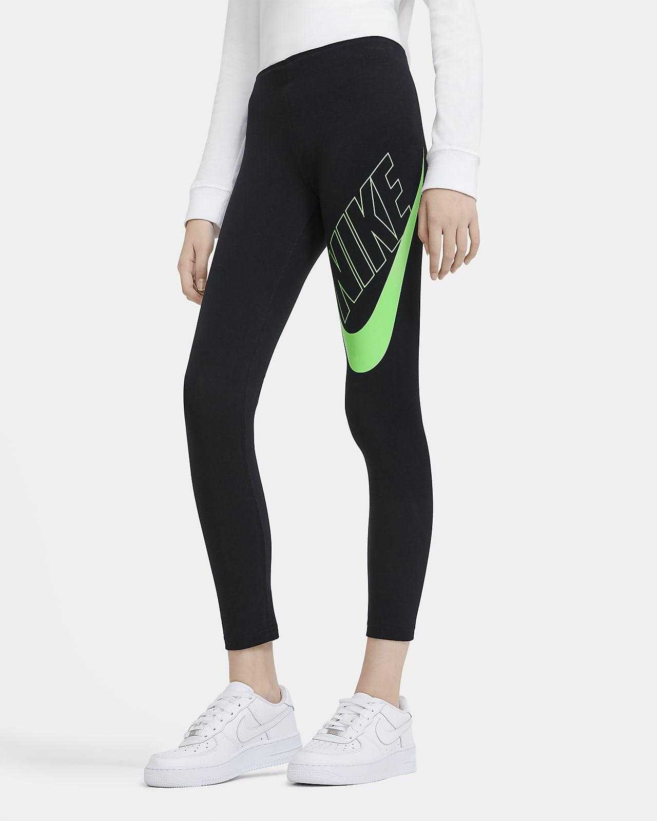 Leggings con grafica fluorescente Nike Sportswear Favorites - Ragazza