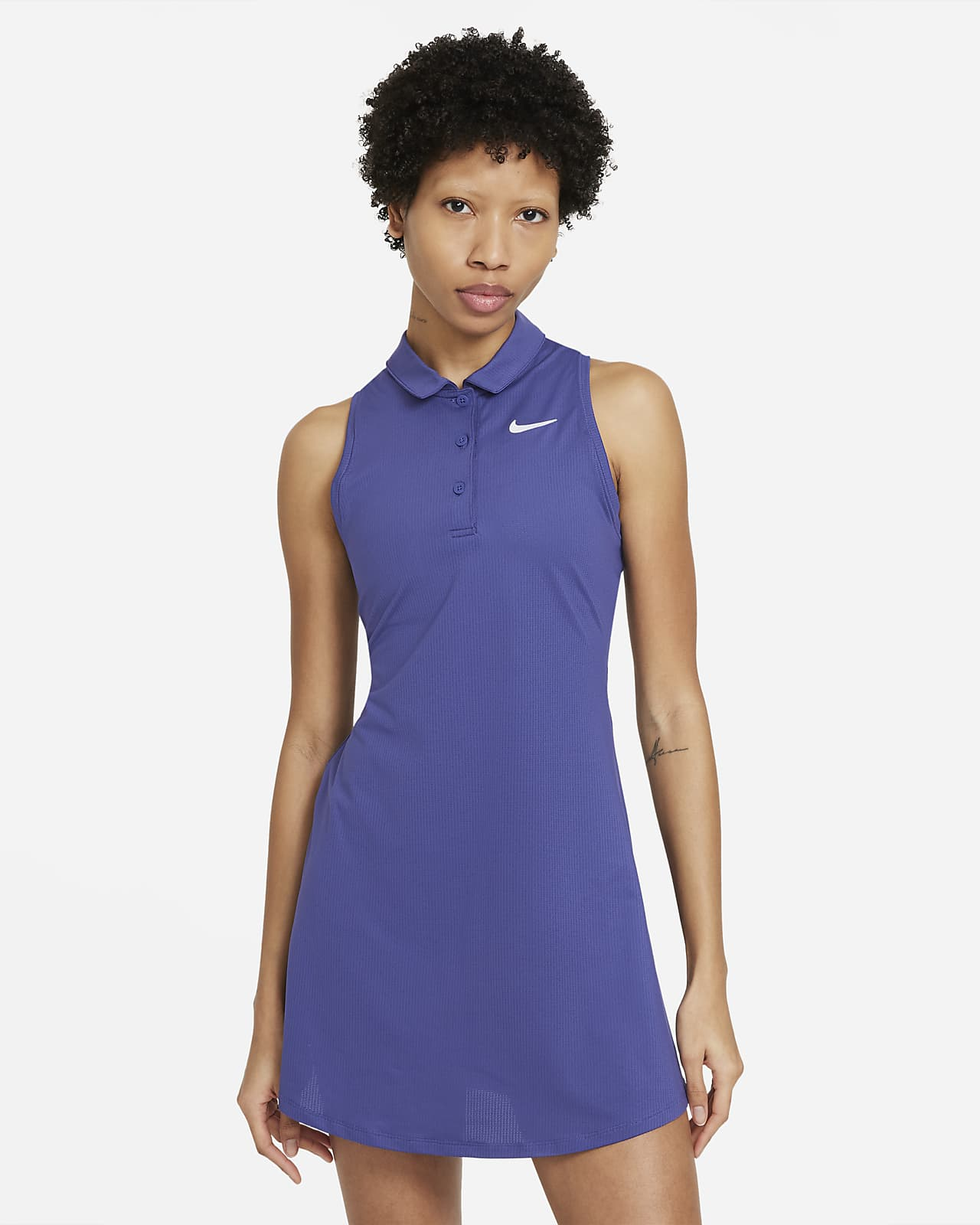 Abito polo da tennis NikeCourt Victory - Donna