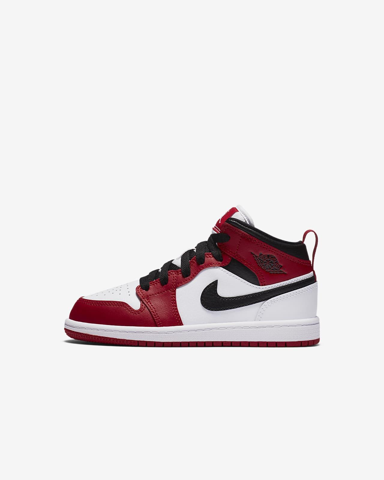 Scarpa Jordan 1 Mid Bambini. Nike IT  A274tR