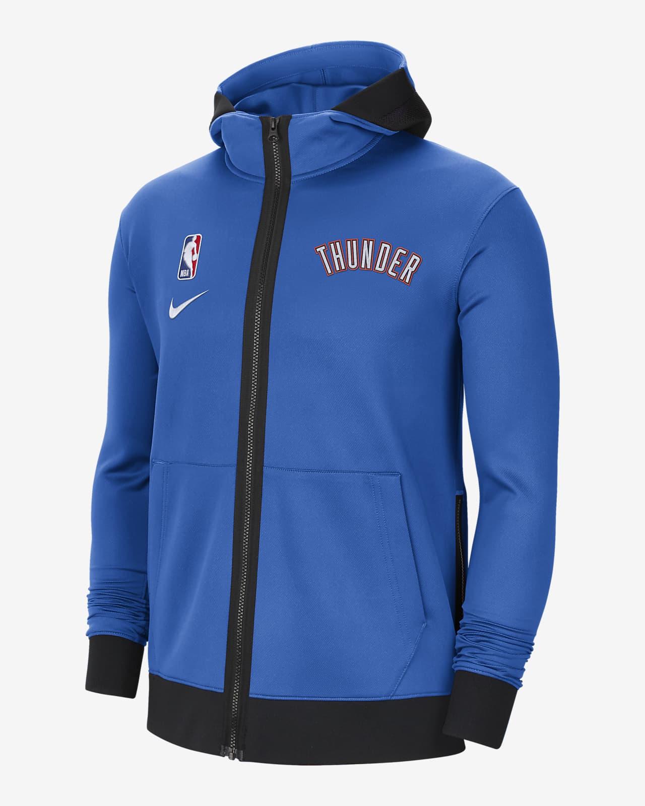 Sweat à capuche NBA Nike Therma Flex Oklahoma City Thunder Showtime pour Homme