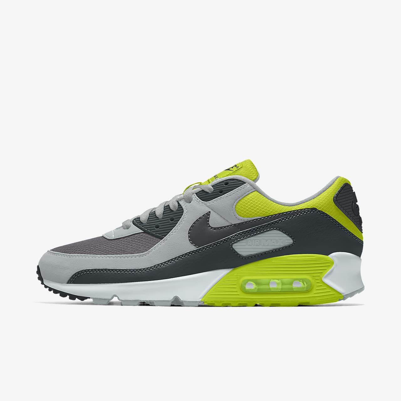 Nike Air Max 90 Unlocked By You Custom lifestyleschoen voor dames
