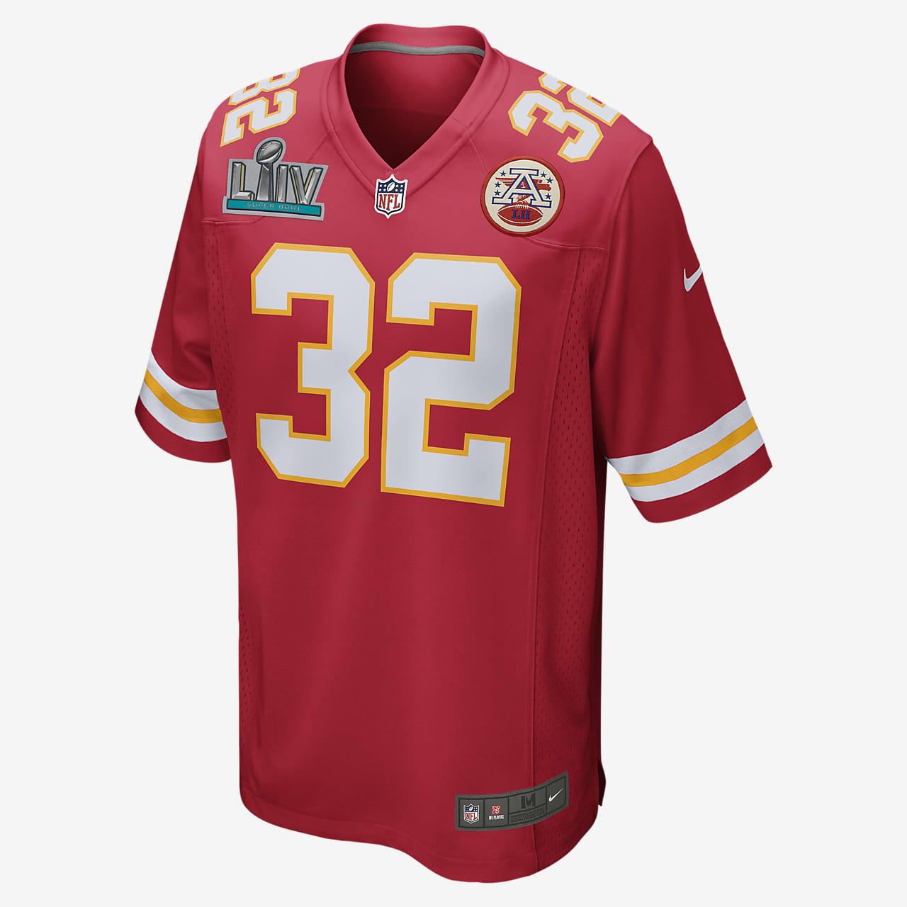 NFL Kansas City Chiefs Super Bowl LIV (Tyrann Mathieu) Men's Game Football Jersey