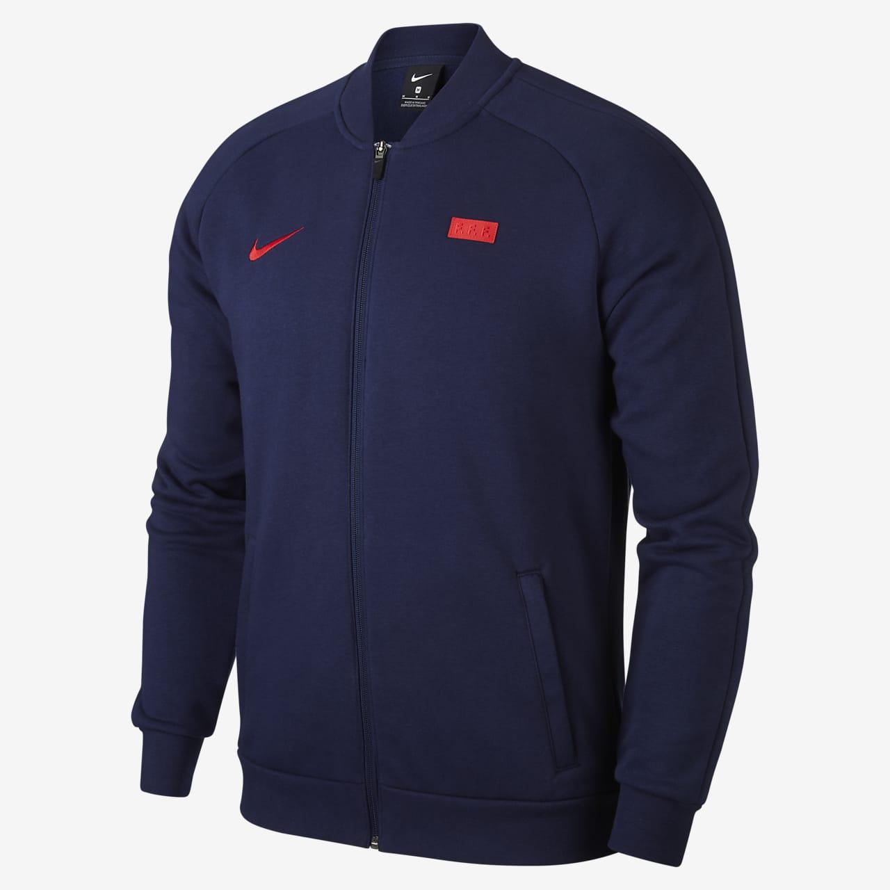 FFF Men's Fleece Football Tracksuit Jacket