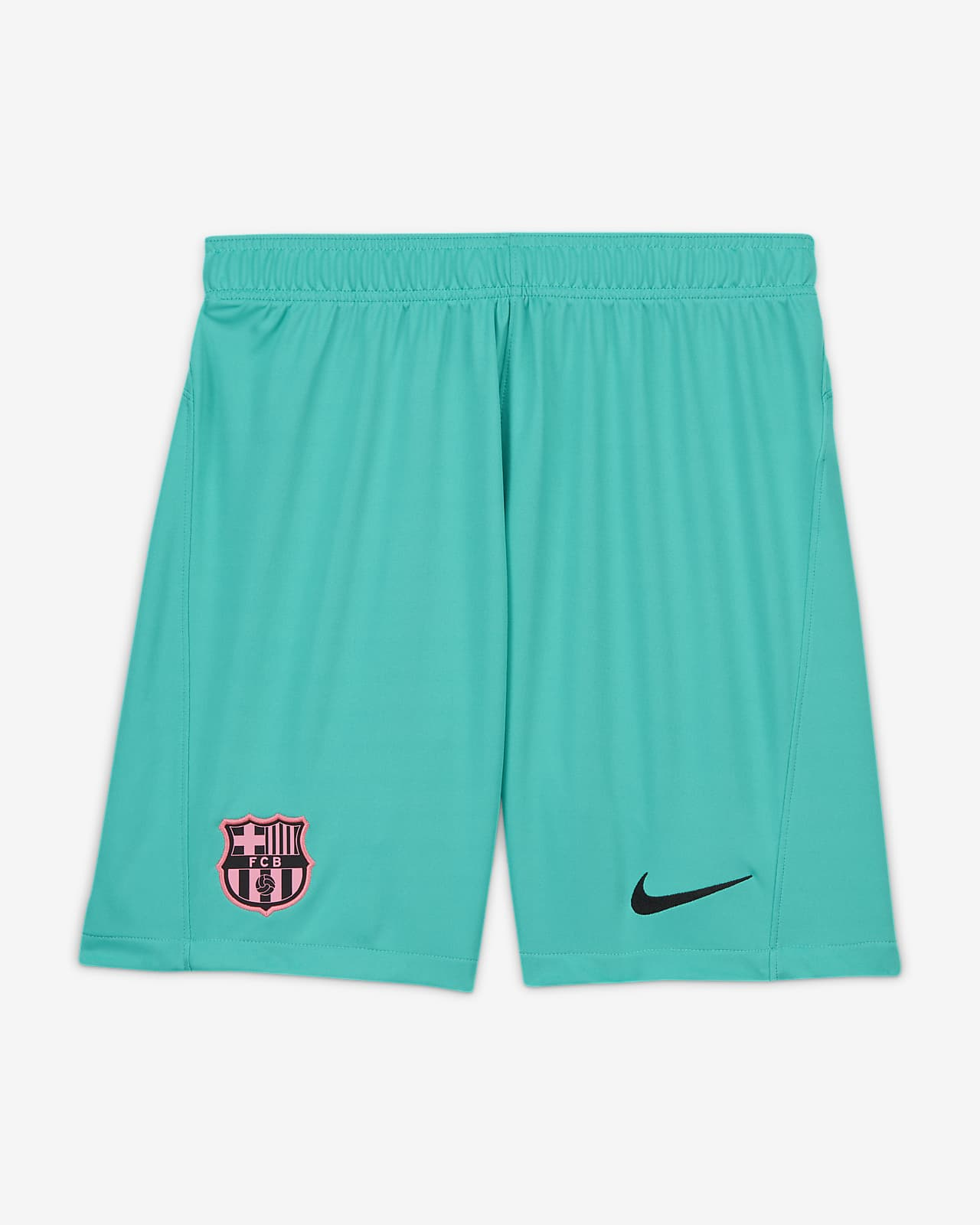3e short de football FC Barcelona 2020/21 Stadium pour Homme