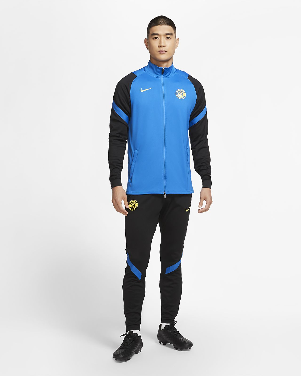 Inter Milan Strike Men's Knit Football Tracksuit