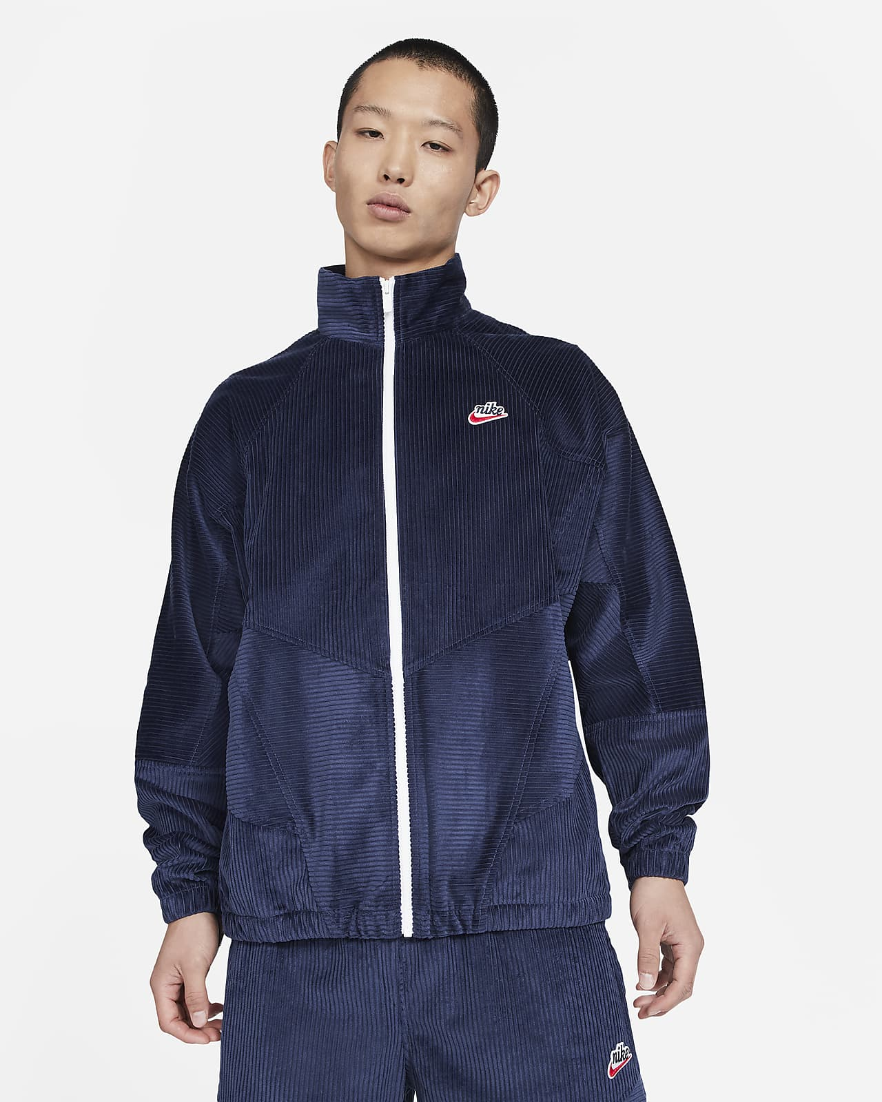 Giacca in velluto a coste Nike Sportswear Heritage Windrunner - Uomo
