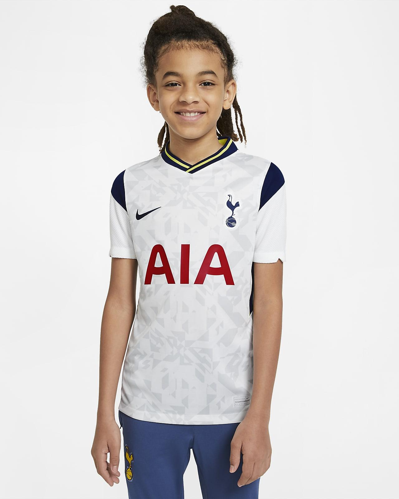 Tottenham Hotspur 2020/21 Stadium Home Fußballtrikot für ältere Kinder