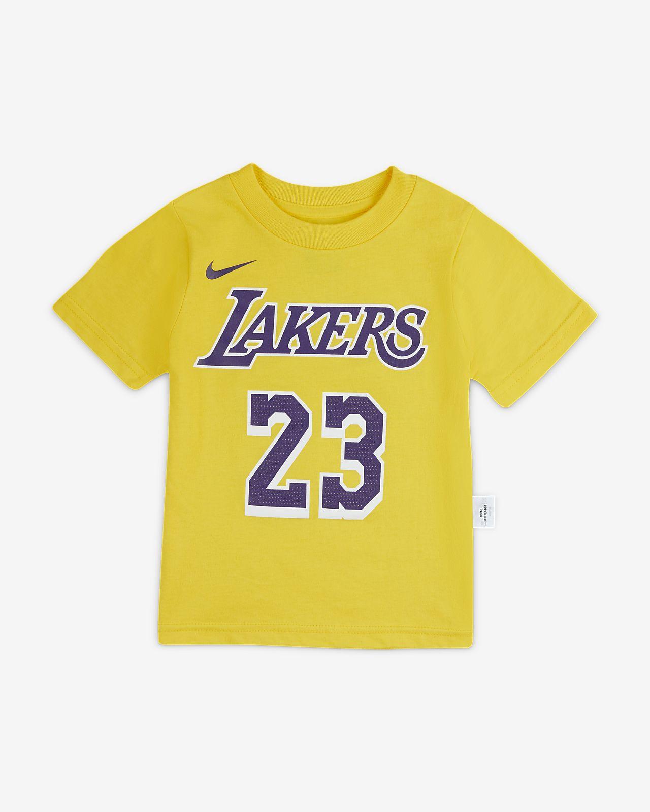 洛杉矶湖人队 Nike NBA 婴童T恤