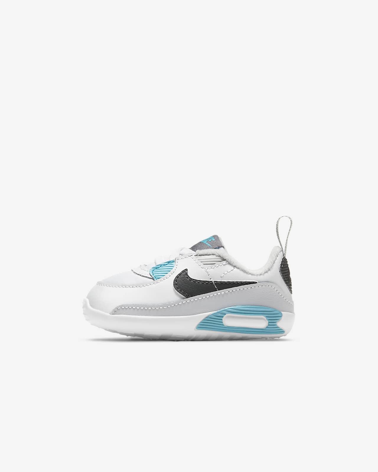 Nike Max 90 Crib-bootie til babyer