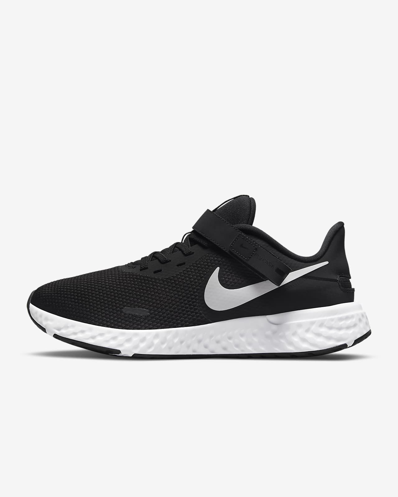 Nike Revolution 5 FlyEase løpesko for vei til herre som er enkle å ta av og på (ekstra bred)
