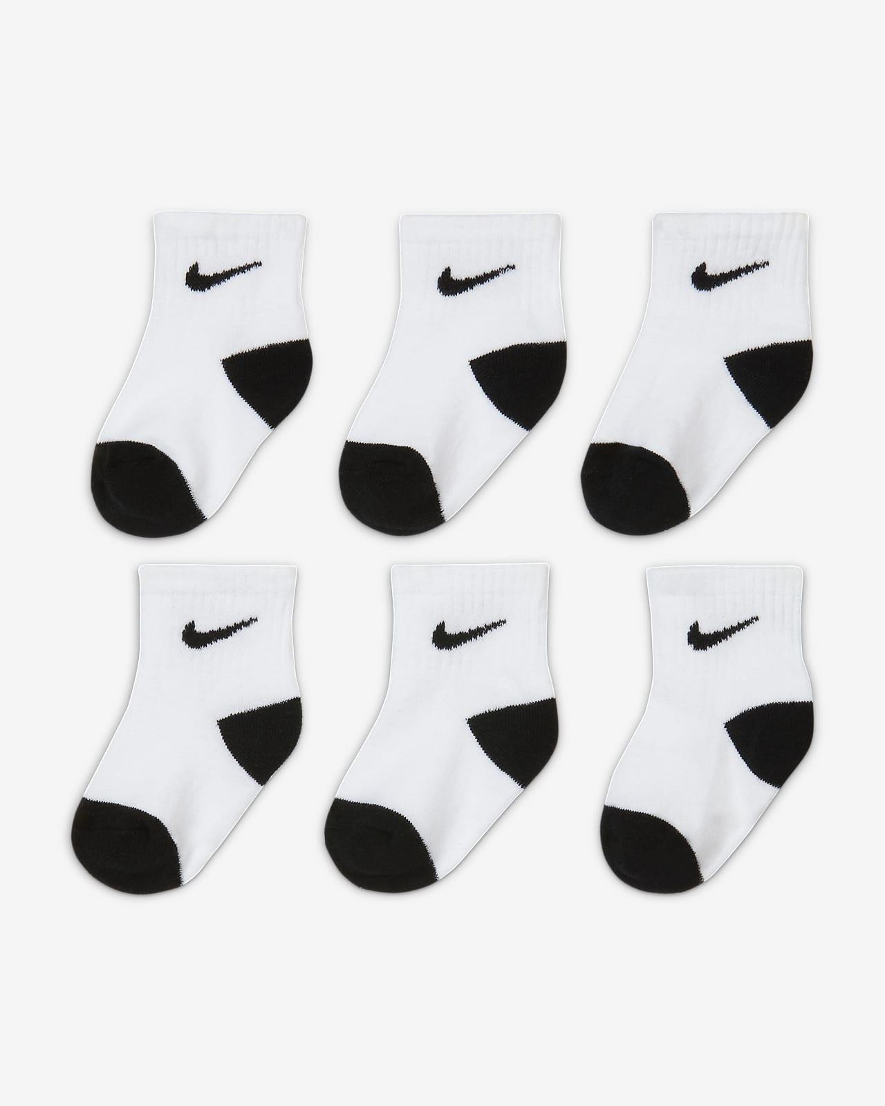 Nike Baby Ankle Socks (6-Pack)