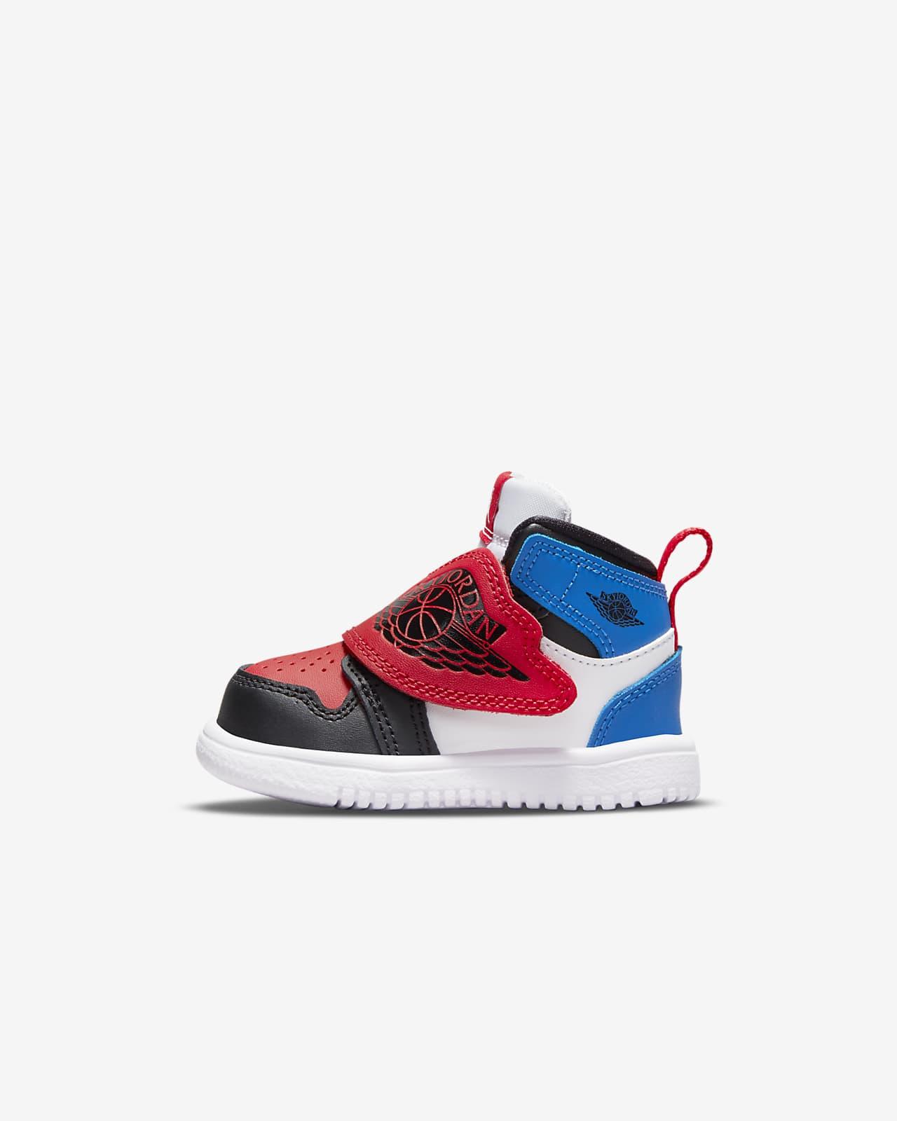 Sky Jordan 1 Baby and Toddler Shoe