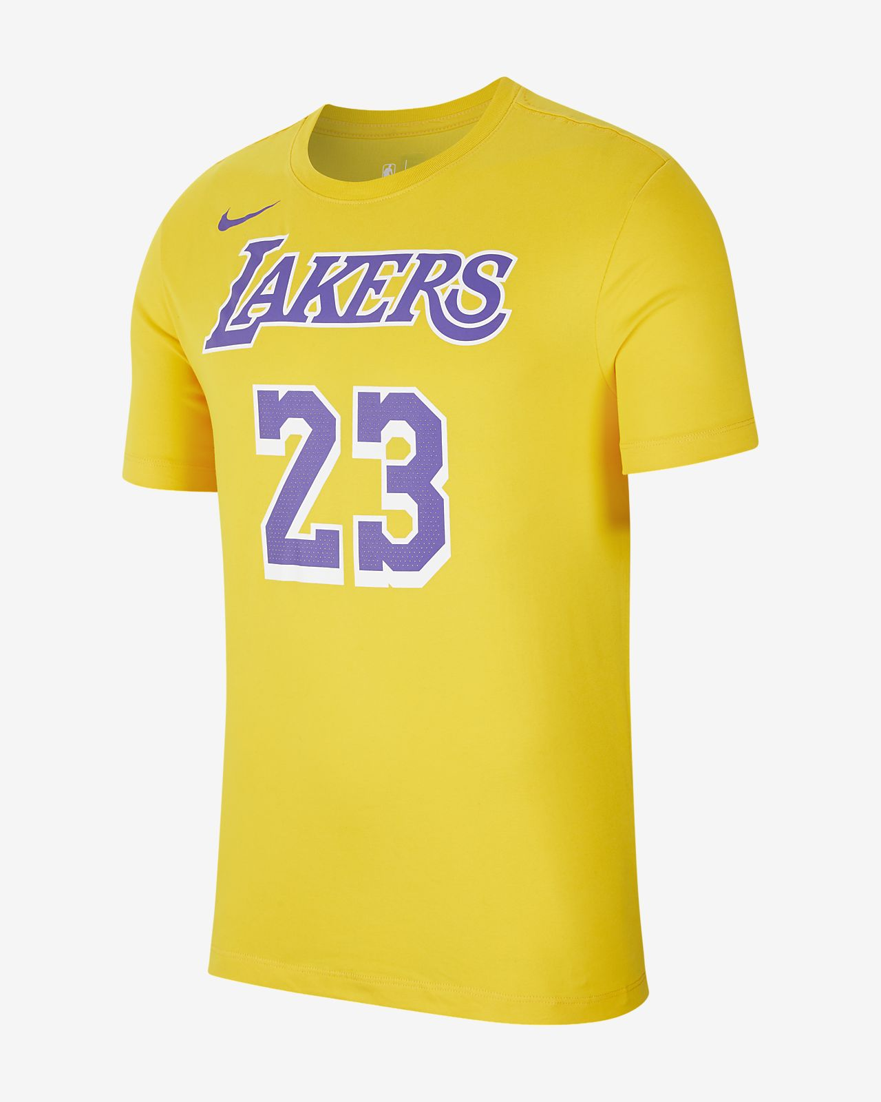 Tee shirt NBA LeBron James Los Angeles Lakers Nike Dri FIT pour Homme