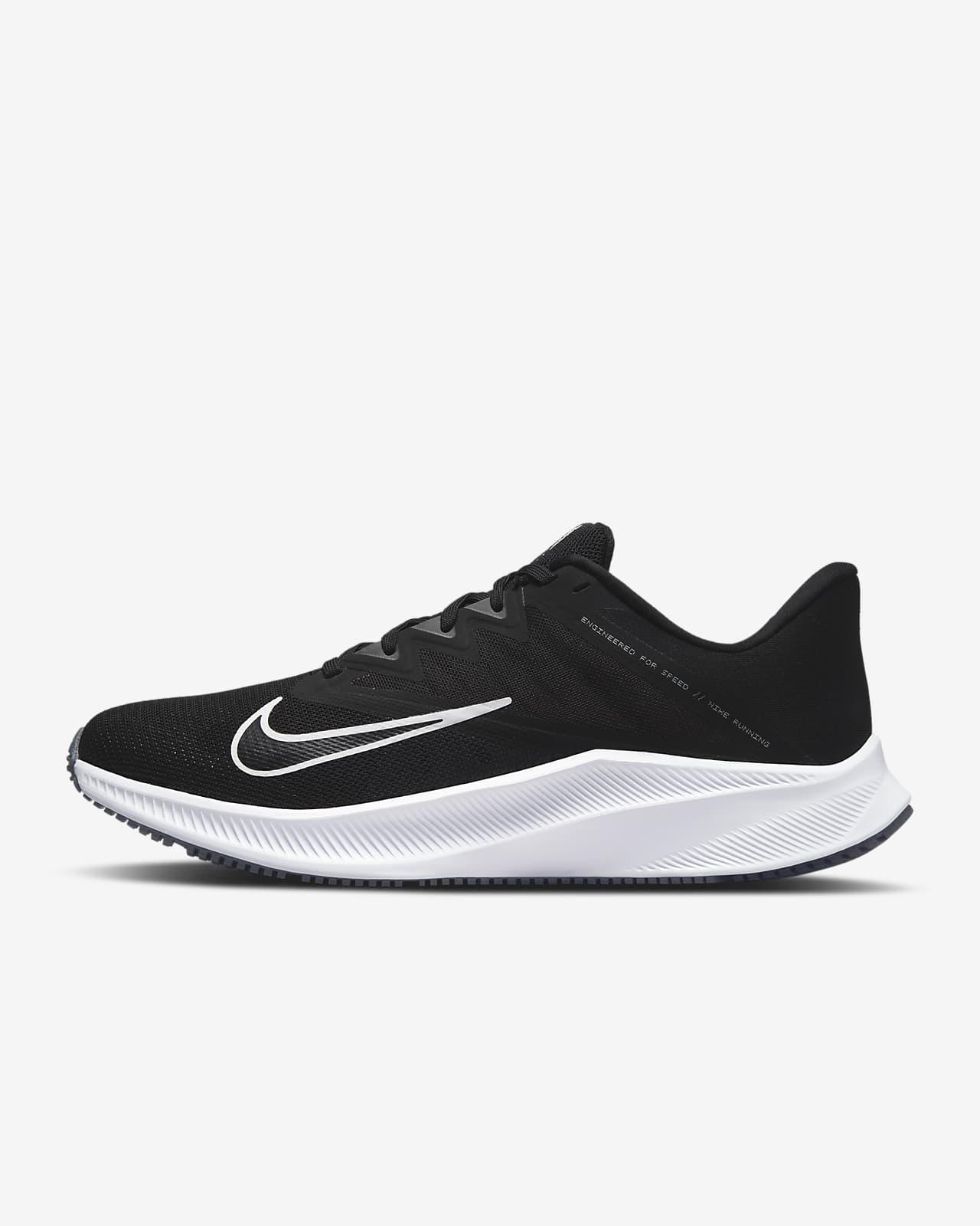 Nike Quest 3 Hardloopschoenen voor heren (straat)