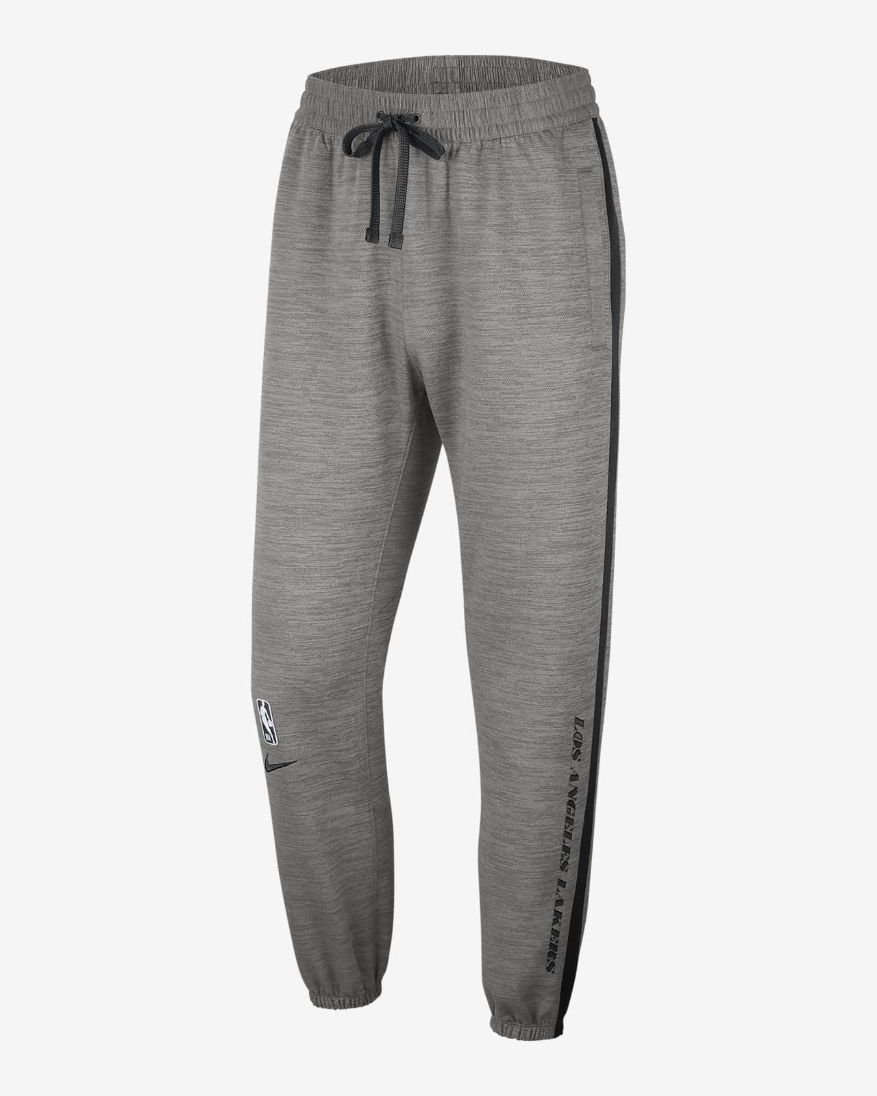 Los Angeles Lakers Showtime Nike Therma Flex NBA-Hose für Herren