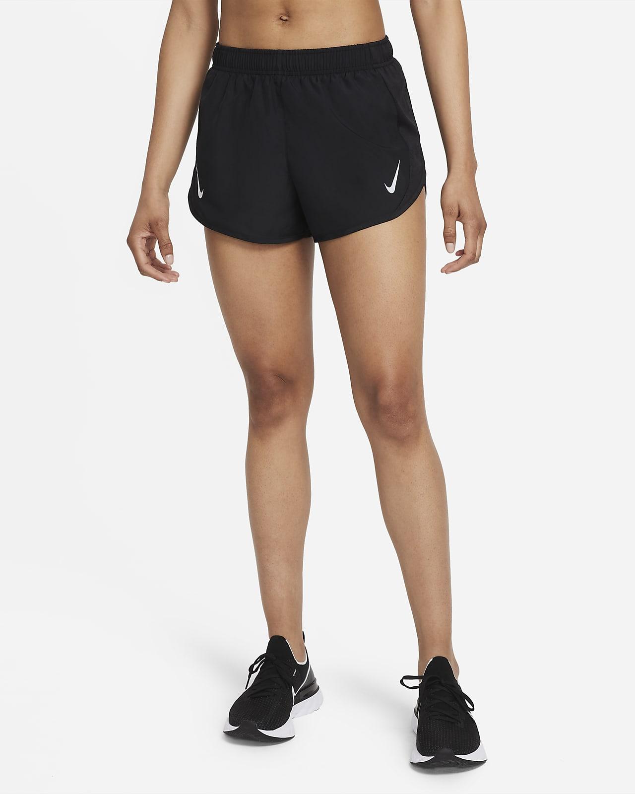 กางเกงวิ่งขาสั้นผู้หญิง Nike Dri-FIT Tempo Race