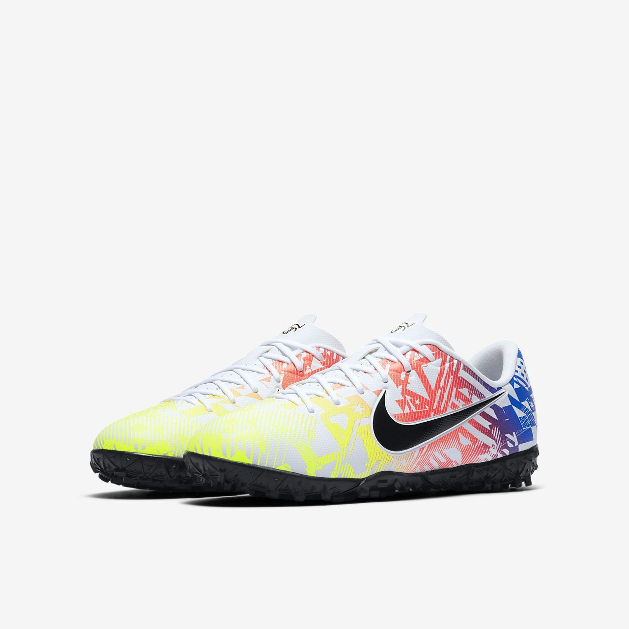 Chaussure de football pour surface synthétique Nike Jr. Mercurial Vapor 13 Academy Neymar Jr. TF pour Jeune enfantEnfant plus âgé