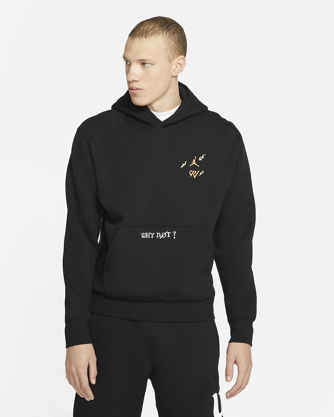 เสื้อมีฮู้ดผ้าฟลีซผู้ชาย Jordan Why Not?