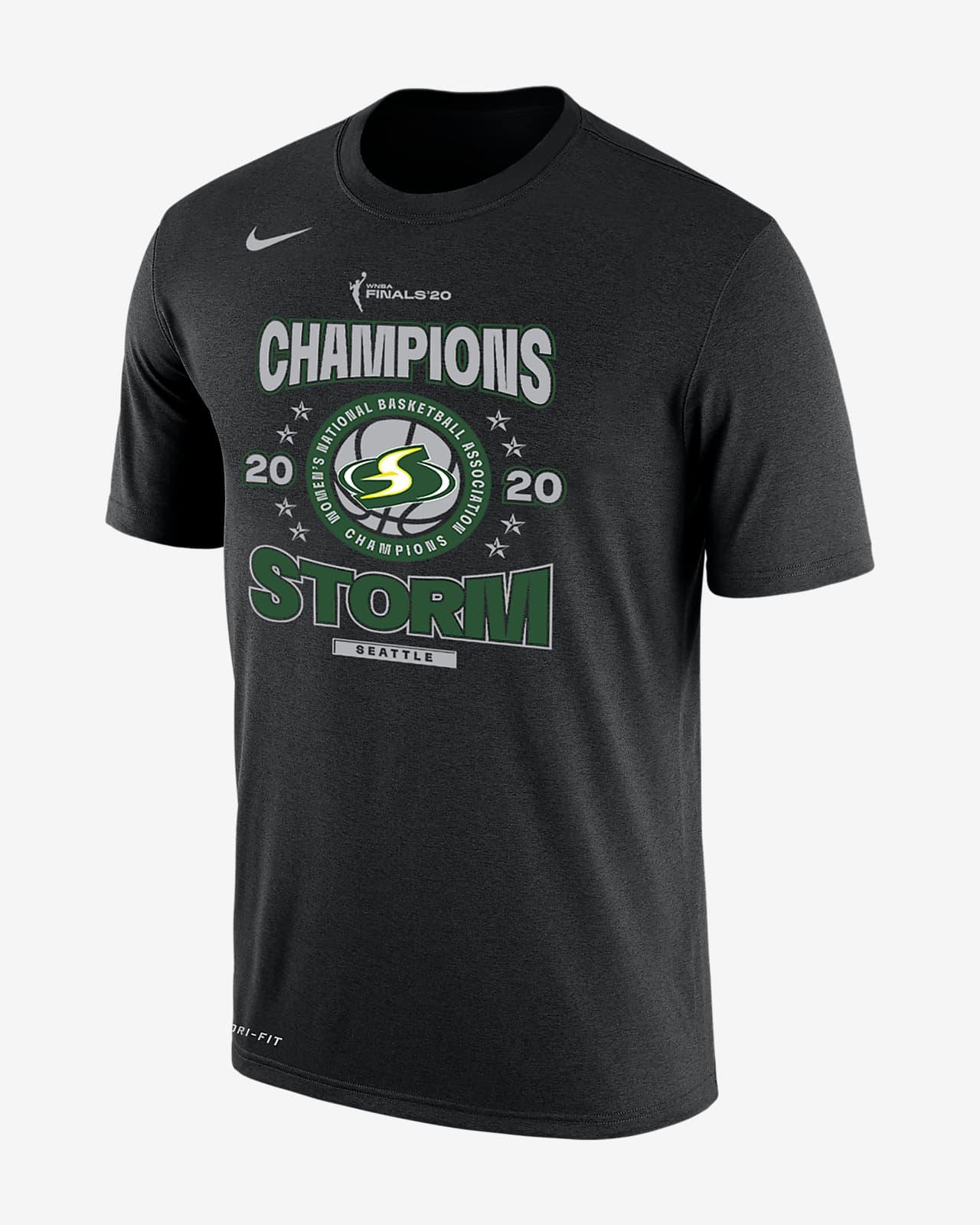 Seattle Storm Champions Men's Nike Dri-FIT WNBA T-Shirt
