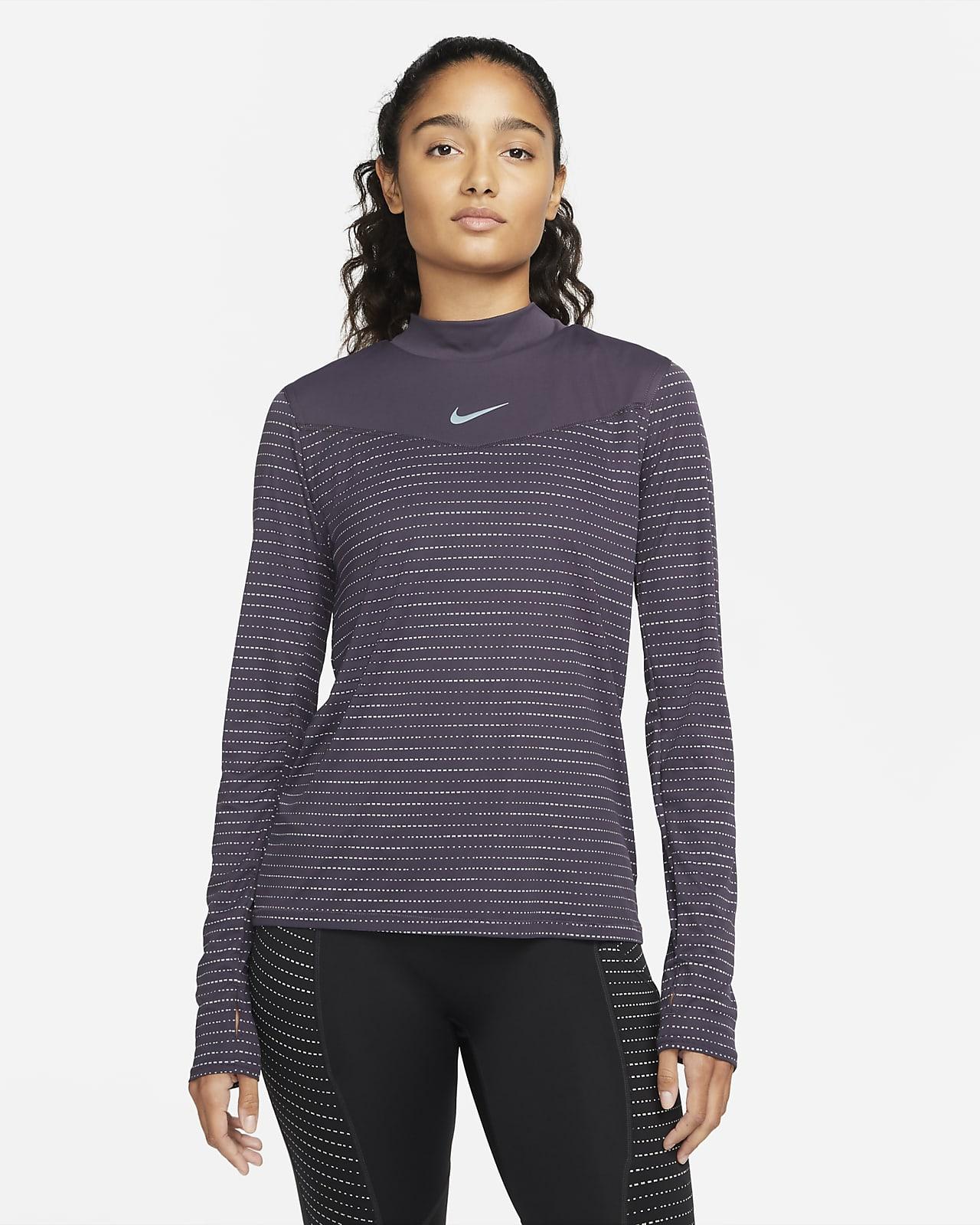 Långärmad löpartröja Nike Dri-FIT Run Division för kvinnor