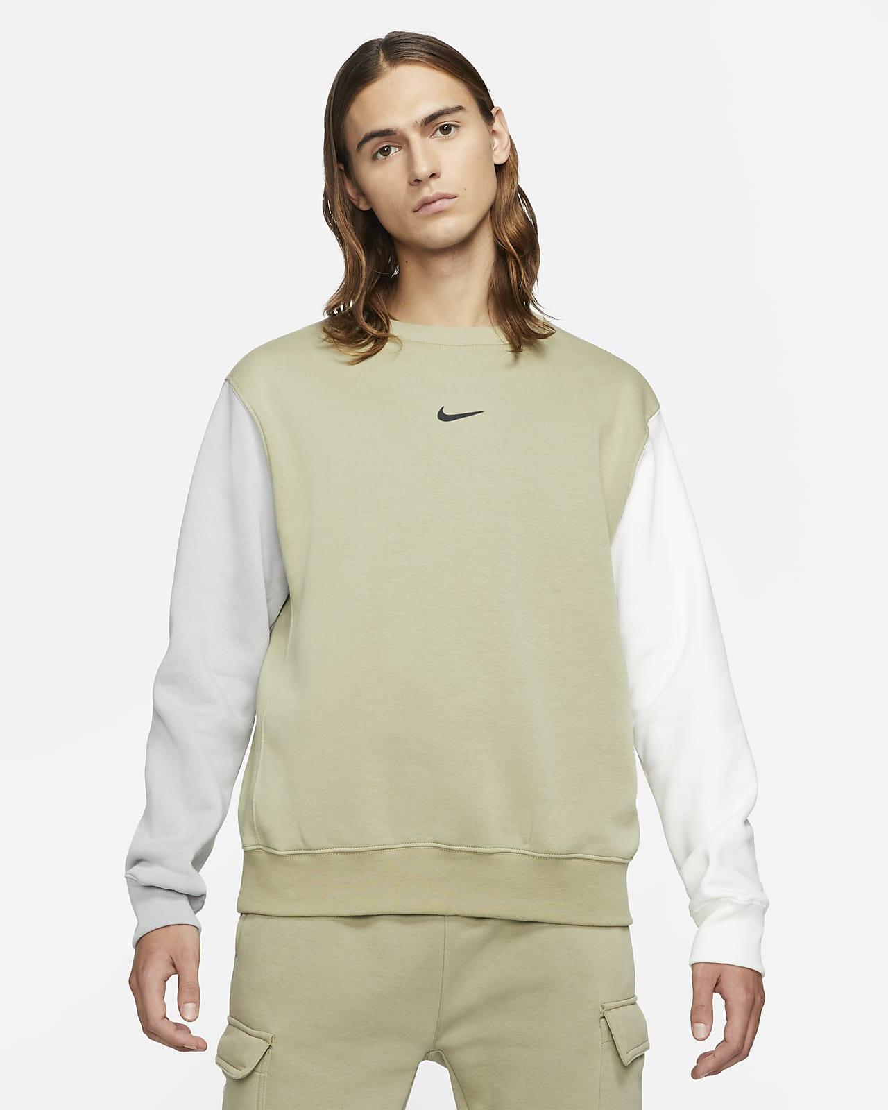 Nike Sportswear Men's Fleece Swoosh Crew