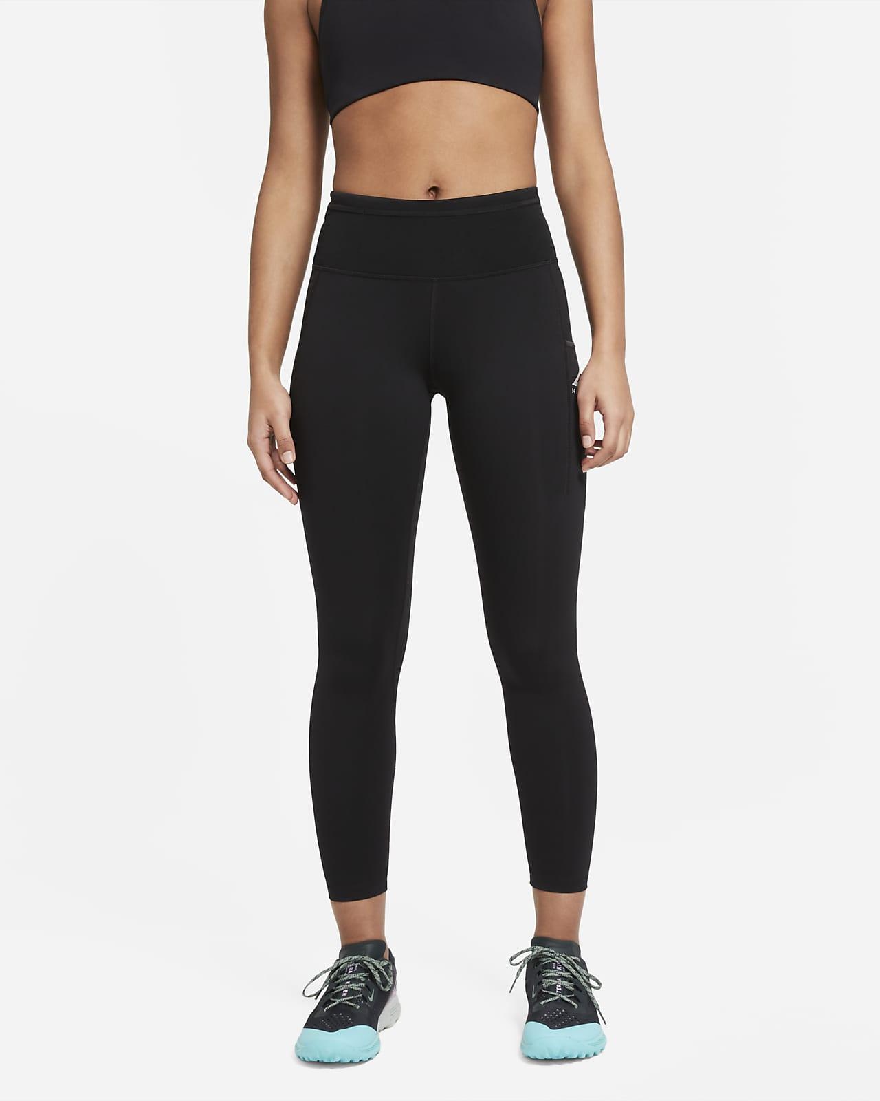 Leggings da trail running a vita media Nike Epic Luxe - Donna