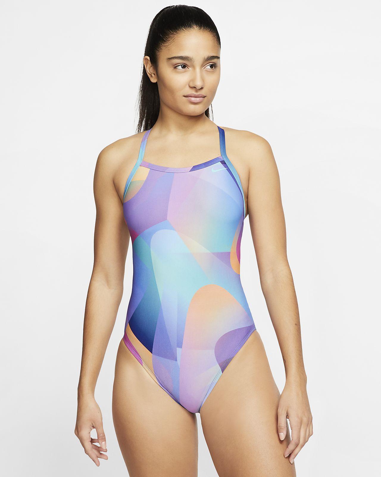 Nike Spectrum Women's Crossback 1-Piece Swimsuit