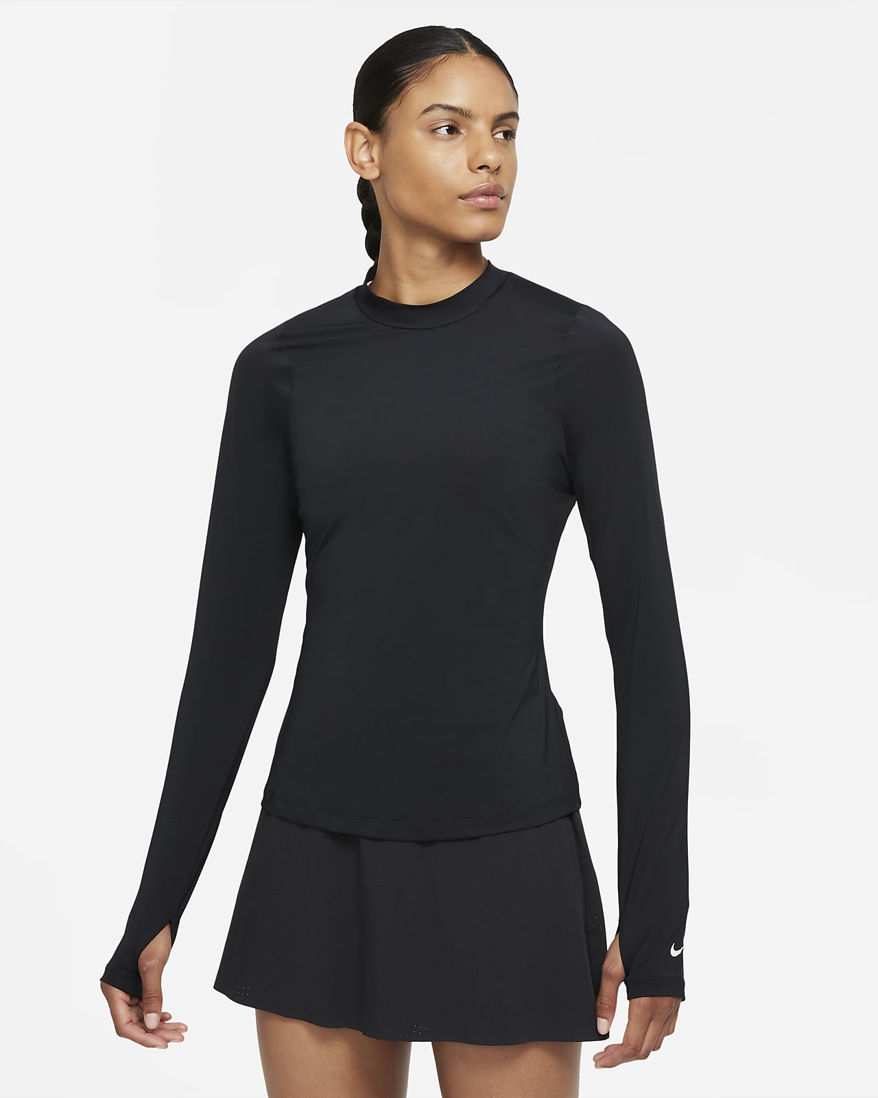 Dámské golfové tričko Nike Dri-FIT UV Victory s dlouhým rukávem