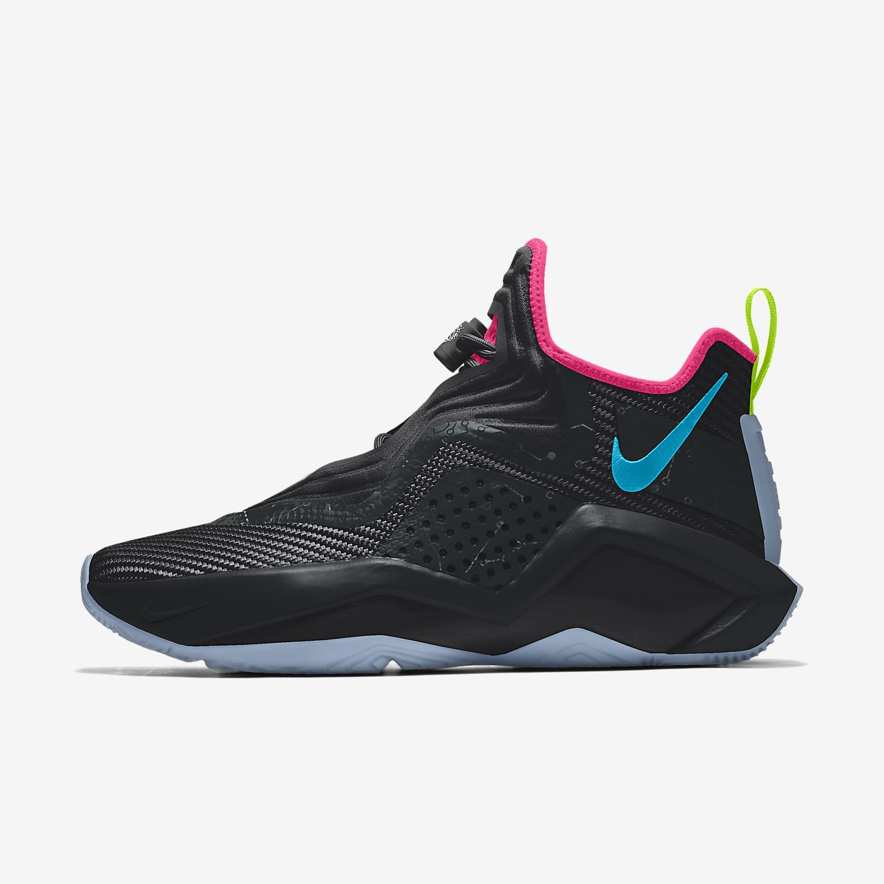 Chaussure de basketball personnalisable LeBron Soldier 14 By You