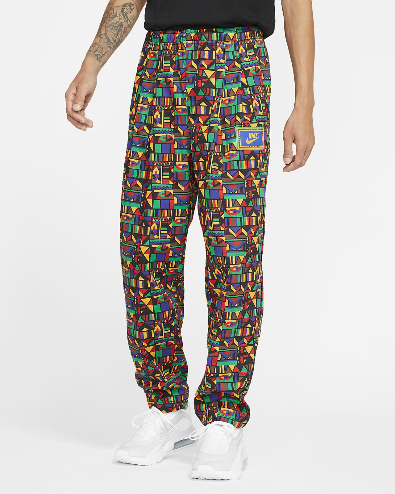 กางเกงผู้ชายแบบทอผลิตซ้ำ Nike Sportswear