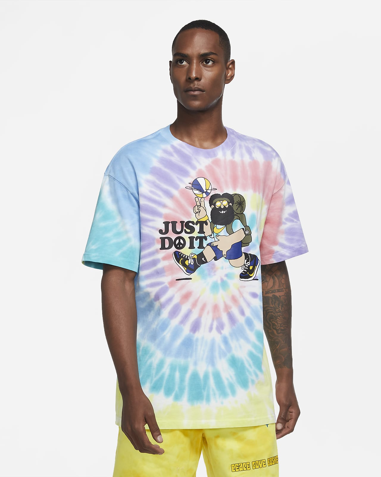 "Nike ""Peace, Love, Basketball"" Men's Basketball T-Shirt"