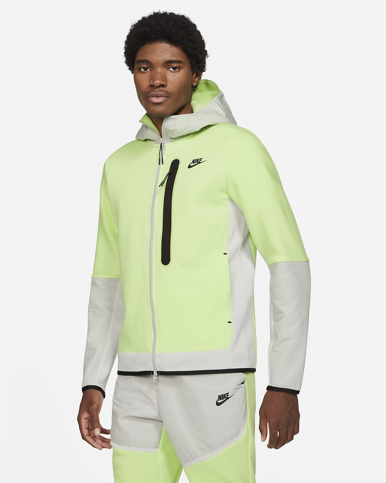 Nike Sportswear Tech Fleece Sudadera con capucha con cremallera completa de tejido Woven - Hombre