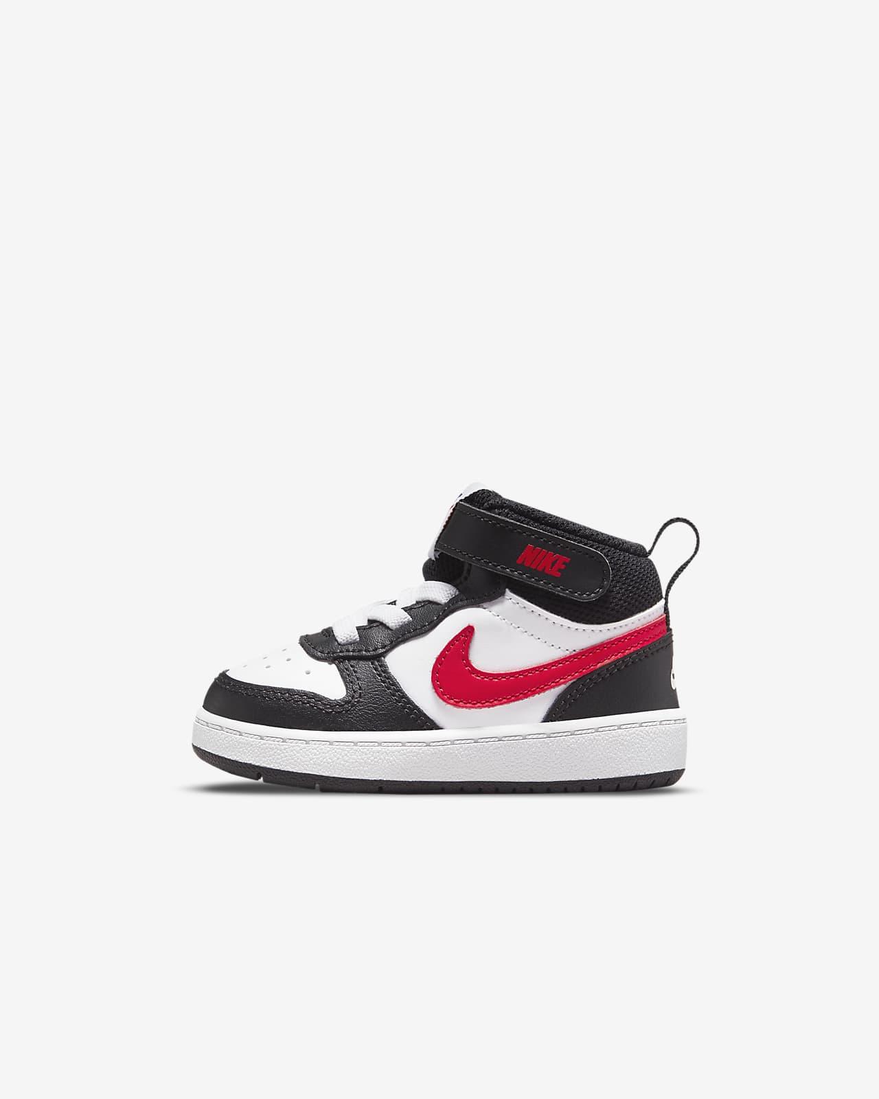 Nike Court Borough Mid 2 Toddler Shoes